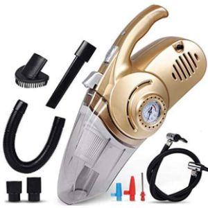 Zffsc Car Vacuum Cleaner Air Compressor