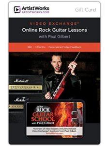 ArtistWorks paul gilbert  guitar schools
