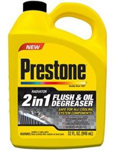 Prestone engine flush
