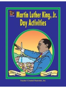 Teacher Created Resources activity  martin luther kings