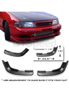 GT-Speed acura legend  front bumper lips
