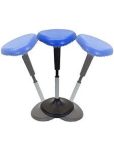 Uncaged Ergonomics    adjustable perching stools