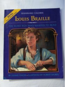Silver Burdett Press autobiography  louis brailles