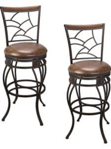 Kira Home bar  stool 30 inch swivels