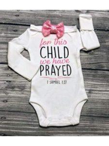 DyvaBows bible verse baptism  babies