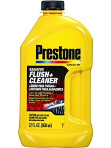 Prestone bike  engine flushes