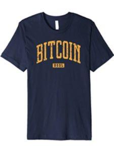 Bitcoin Shirt BTC Tees HODL Apparel bitcoin paper  satoshi nakamotoes