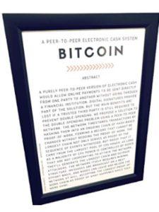 Marketuring bitcoin paper  satoshi nakamotoes