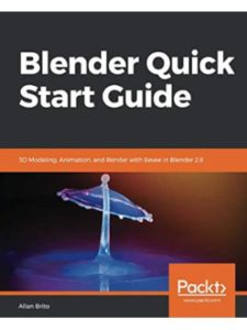 Packt Publishing book  3d modelings