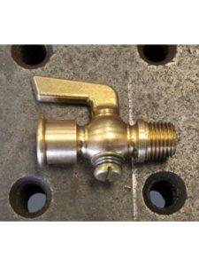 Billet Proof Designs brass  fuel petcocks