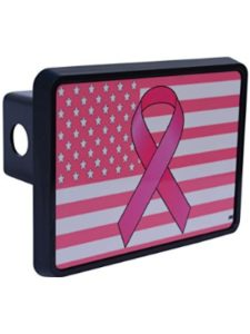 Rogue River Tactical breast cancer  trailer hitch cover