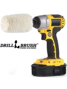 Drillbrush Power Scrubber brush drill  wheel cleanings