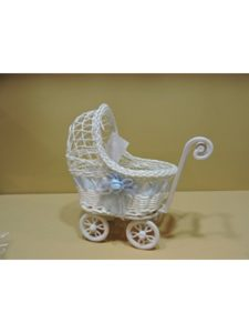 Ivonne's Party Creations cake topper  baby strollers