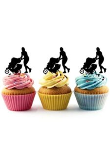 jjphonecase cake topper  baby strollers