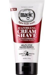 Soft Sheen Carson    carson magic razorless cream shaves