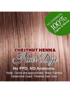 Allin chestnut henna hair color