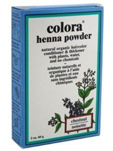 Colora Henna chestnut henna hair color