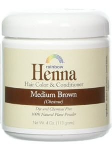 Rainbow Research chestnut henna hair color