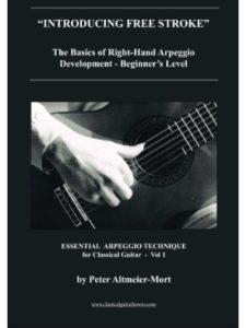 Peter Altmeier-Mort classical  guitar arpeggio techniques