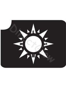 DirectGlow LLC compass  tattoo stencils