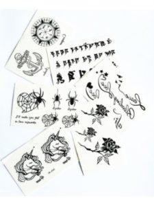 GGSELL compass  tattoo stencils