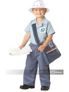 California Costumes - Toys costume  toddler mail carriers