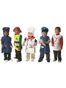 Children's Factory costume  toddler mail carriers