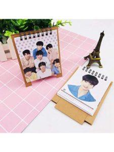 Chipsua custom photo  desk pad calendars