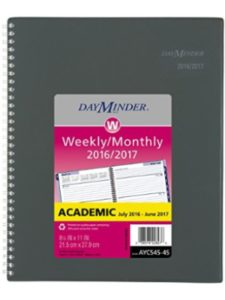 ACCO Brands dayminder  academic weekly planners