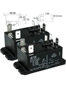 TE CONNECTIVITY & BRUMFIELD dpst  automotive relays