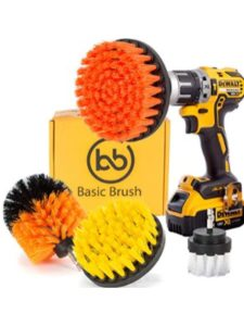 BasicBrush drill attachment  wheel cleanings