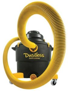 Love-Less Ash Co. DBA Dustless Technologies hepa vac