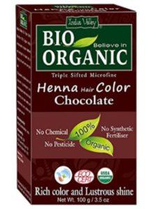 Indus Cosmeceuticals dye auburn  henna hairs