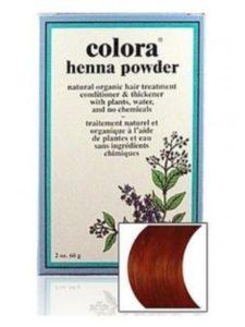 Nature's Brands dye auburn  henna hairs