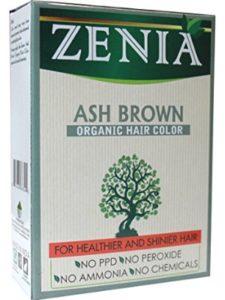 Zenia dye damaging  henna hairs