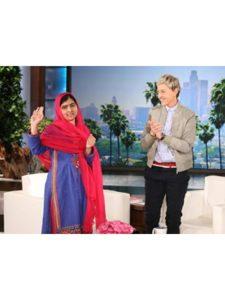 amazon ellen  malala yousafzais