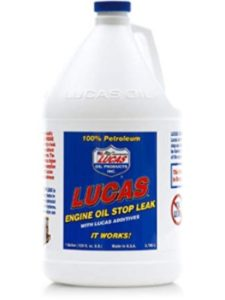 Lucas Oil engine concentrate  oil stop leaks