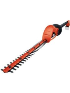 BLACK AND DECKER extended reach  electric hedge trimmers