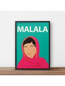 TopFloorStore feminist  malala yousafzais