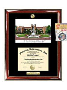 Graduation Lithograph Frame AllGiftFrames fsu  social works