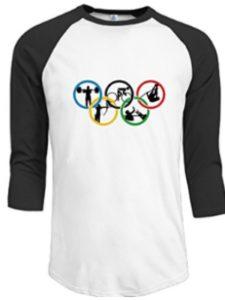 Za2yRaglan-Tee game list  summer olympic