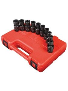 Sunex Tools gator grip 3pc  universal socket sets