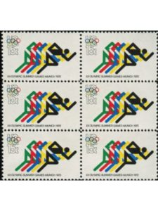 US Post Office Dept germany  summer olympic