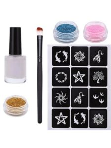 Datework glitter holder  tattoo stencils