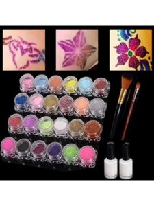 745 good  henna tattoo kit