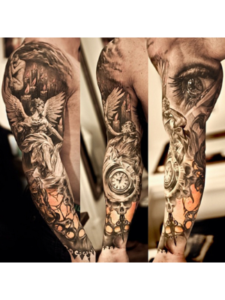 Educational And Entertaintment hd  tattoo designs
