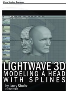 KURV studios head  3d modelings