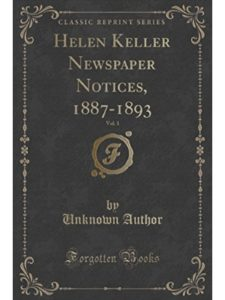Forgotten Books    helen keller newspapers