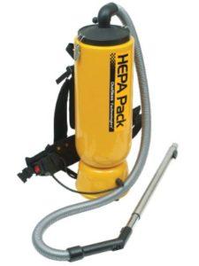 HEPA Back Pack Vacuum paint remover