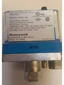 Honeywell low pressure switch